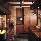 Staining Kitchen Cabinets