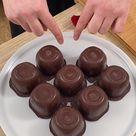 Cœur de chocolat caramel