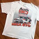 """thesavagearmy on Instagram """"1989 Audi 90 Quattro IMSA GTO • audi vintageaudi audi90quattro audiclassic 80svintage vintagetees vintagetshirt vintageclothing…"""""""