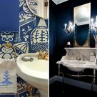 Royal Blue Bathrooms