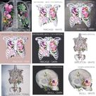 You Choose 3 Print Bundle - Anatomical Art Prints - Human Body - Medical Art