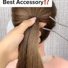 Hairstyles Videos 💖💋  number  8 😍