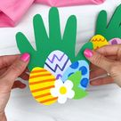 Handprint Easter Card Craft