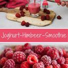 Leckerer Joghurt-Himbeer-Smoothie