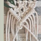 Beginner Macrame Knots: A Tutorial E-Book, Includes Step by Step Knot Instructions for the Most Comm