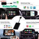 Adaptador carplay y Android Auto - Apto para todas las marcas de automóviles, WIRED (Android y IOS)