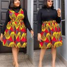 13 Beautiful Ankara Styles For Women - Amazing African Outfits 2021