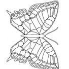 Kleurplaat Vlinder. Gratis kleurplaten om te printen