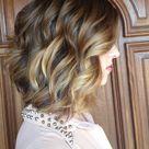 Brunette Blonde Highlights
