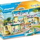 Playmobil 70434 Playmo Beach Hotel Spielset, Mehrfarbig ,mehrfarbig