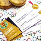 {Sporty & Gold} Olympics Party Theme