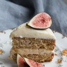 Earl Grey Cake with Honey Cream Cheese Icing — Linden and Lavender | Baking Therapy and Other Stories