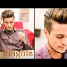 Mens Hair Highlights - Natural Streaks: Mariano Di Vaio Inspired