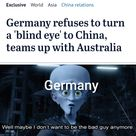 Germany is trying to make up for the mistake