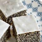 ➤ Mohnkuchen mit Zitronenglasur - Culina Bohemica