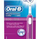 Oral-B Oral-B cepillo de dientes eléctrico Professional Care 600 Purple Clean 3D