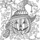 Pumpkin - Printable Adult Coloring Page from Favoreads (Coloring book pages for adults and kids, Coloring sheets, Coloring designs)