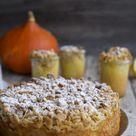 Kürbis-Apfel-Kuchen mit Mandelkruste - Fräulein Meer backt