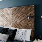Master Bedroom Makeover + DIY Wooden Headboard