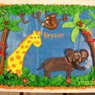 Zoo Animal Cakes