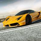 yellow Ferrari F70 FXX by wizzoo7 on DeviantArt