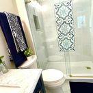 Bathroom Navy Blue