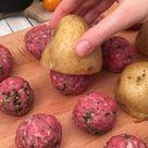 Käse-Kartoffel-Hack-Gratin