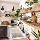 Budget Friendly Modern Farmhouse Kitchen Makeover