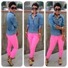 Neon Pants