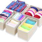 Dresser Drawer Divider Organizer, Set of 3, baby cloth organizer, underwear organizer, bra organizer, declutter