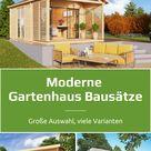 So stylisch kann dein Garten sein - moderne Gartenhäuser aus Holz