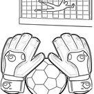 Fußball Ausmalbilder ⚽ Spielfeld, Ball & Fußballfieber   BabyDuda » Malbuch
