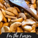 For the Freezer Apple Pie Filling to Quick Apple Bars · Jess in the Kitchen