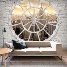 VLIES FOTOTAPETE Steinwand New York TAPETE TAPETEN Schlafzimmer WANDBILD 3 Farbe • EUR 8,99