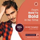 Hair Loss Remains No Issue with Hair Transplant in India Service