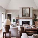 Gemütliches Wohnzimmer | Wohnzimmer in Erdtönen | Wohnzimmermöbel Idee