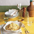 Fettuccine with Lemon, Mint, and Parmesan Recipe