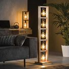 Floor lamp - A beautiful wooden floor lamp or free standing lamp by SurreyWoodsmiths