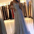 Appliques Prom Dresses, Long Prom Dress, Prom dress CC116