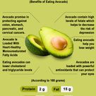 Avocado: Nutrition Facts by Keon