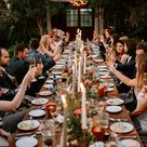 A Garden Micro Wedding With Only 30 Guests and Some of the Most Stunning Flowers + Personal Details | Green Wedding Shoes