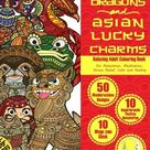 RELAXING Adult Colouring Book: Chinese Dragons and Asian Lucky Charms (Zen Art Therapy with One Sided Mandala Pattern - Mindfulness for Ladies and Men)