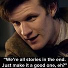 When The Doctor spoke to Amy Pond (who was asleep).