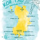The 13 most beautiful beaches of Koh Tao