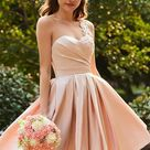 18 Short Bridesmaids Dresses For Any Wedding   Wedding Dresses Guide