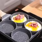 50% OFF SALE | Hole type frying pan non stick egg pancake machine