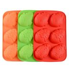 Easter Eggs Silicone Mould Mold 6 Hole Ice Cookie Mousse Baking DIY Cake Chocolate Pudding Baby Resin Soap 3D Tray Jewelry Epoxy Craft