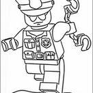 Lego Police Printen Kleurplaat 9