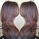 Brown Layered Hair