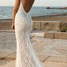 21 Fantastic Lace Beach Wedding Dresses | Wedding Dresses Guide